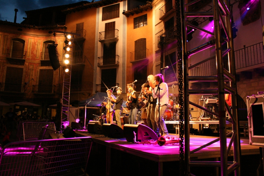 Gabacho Maroconnection. 'Bissara'. Sábado 5 de julio. Plaza Mayor. Foto de Noelia Torres.